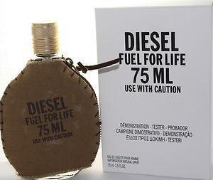 Tester Diesel Fuel For Life Eau de Toilette 75ML - Perfume Masculino
