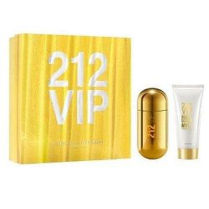 Kit 212 Vip Feminino EDP 80 ml + Body Lotion 100 ml - Carolina Herrera