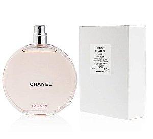 Tester Chance Eau Vive Eau de Toilette Chanel 100ml - Perfume Feminino