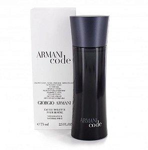 Tester Armani Code Eau de Toilette Giorgio Armani 75ML - Perfume Masculino