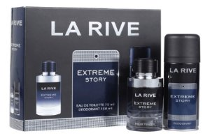 Kit Extreme Story La Rive Eau de Toilette 75ml + Desodorante 150ml - Masculino