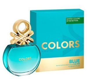 Colors Blue Benetton Eau de Toilette 80ml - Perfume Feminino