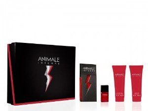 Kit Animale Intense For Men Eau de Toilette 100ml + Loção Pós-Barba 90ml + Sabonete 90ml + Eau de Parfum 7,5ml