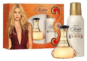Kit Wild Elixir by Shakira Eau de Toilette Shakira - Perfume Feminino 80ml + Desodorante 150ml