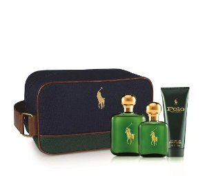 Kit Polo Green 119ML + 59ML EDT Ralph Lauren + Pós Barba 100ML - Perfume Masculino