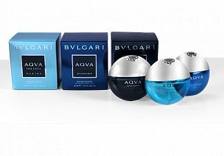 The Aqva Pour Homme Travel Collectinon 3x15ml