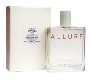 Tester Allure Homme EDT Chanel - Perfume Masculino