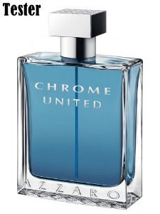 Tester Azzaro Chrome United EDT Azzaro 100ML - Perfume Masculino