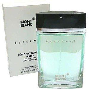 Tester Presence Eau de Toilette Montblanc 75ml - Perfume Masculino