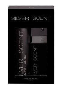 Kit Silver Scent Eau de Toilette  Jacques Bogart 100ML + Body Spray 200ML Masculino