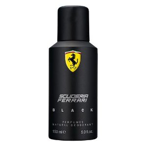 Desodorante Spray Ferrari Black 150ml - Masculino