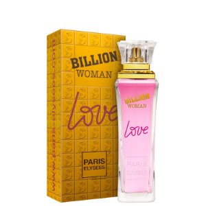 Billion Woman Love Eau de Toilette Paris Elysees 100ml - Perfume Feminino
