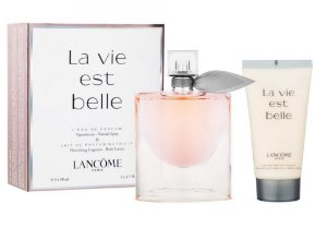 Kit La Vie Est Belle Travel Exclusive L'eau de Parfum Lancôme - 50ML + Body Lotion 50ML