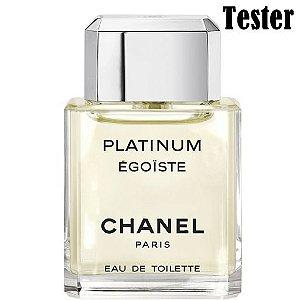 Tester Platinum Egoiste Pour Homme EDT Chanel 100ML - Perfume Masculino