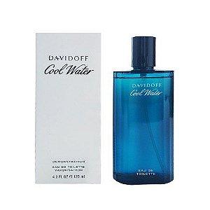 Tester Cool Water Eau de Toilette Davidoff 125ml - Perfume Masculino