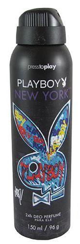 Desodorante Playboy New York Aerosol 150ML