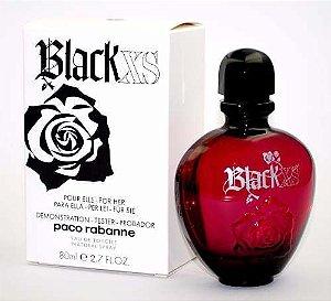 Tester Black Xs For Her EDT Paco Rabanne 80ML - Perfume Feminino