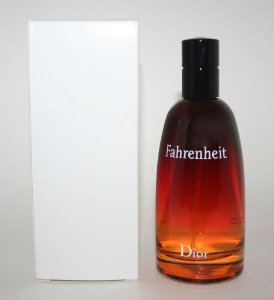 Tester Fahrenheit Eau de Toilette Dior 100ml - Perfume Masculino