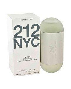 Tester 212 Nyc EDT Carolina Herrera 100ML - Perfume Feminino