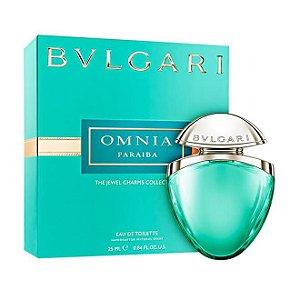 Bvlgari Omnia Paraiba Charms Collection Eau de Toilette Bvlgari 25ML - Perfume Feminino