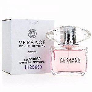 Tester Bright Crystal Eau de Toilette Versace 90ML - Perfume Feminino
