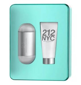 Kit Perfume 212 NYC Carolina Herrera 100ml + Hidratante de 100ml