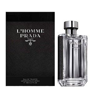 L´Homme Milano Eau De Toilette Prada 100ML - Perfume Masculino