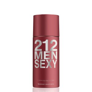 Desodorante 212 Sexy Men 150ml Carolina Herrera - Spray Masculino