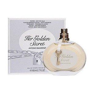 Tester Her Golden Secret EDT Antonio Banderas 80ML - Perfume Feminino