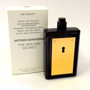 Tester The Golden Secret EDT Antonio Banderas 100ML - Perfume Masculino