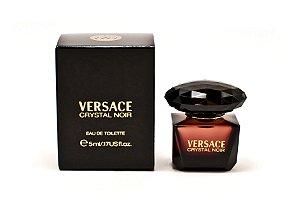 Miniatura Crystal Noir Eau de Toilette Versace 5ML - Perfume Feminino
