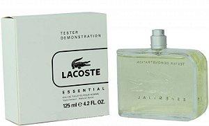 Tester Lacoste Essential Pour Homme Eau De Toilette 125ml - Perfume Masculino