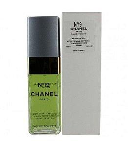 Tester Chanel N°19 Eau de Toilette 100ML - Perfume Feminino