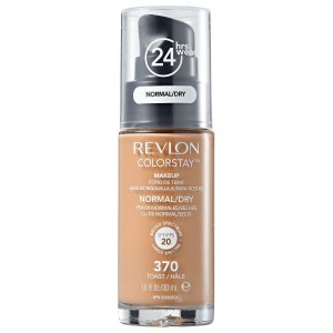 Base Revlon ColorStay Pele Normal e Seca Cor 370 Toast / Hâlé 30ml - Base Líquida FPS 20