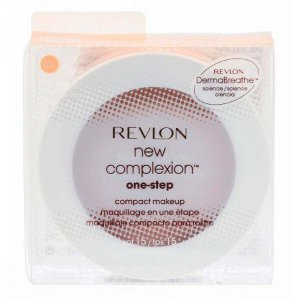 Base Compacta Revlon New Complexion One-Step Compact Makeup Sand Beige - 9,9g 2 em 1