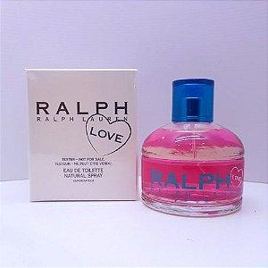 Tester Ralph Love Eau de Toilette Ralph Lauren 100ml - Perfume Feminino