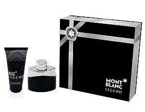 Kit Montblanc Legend Eau de Toilette 50ML + Loção Pós-Banho 100ML - Masculino