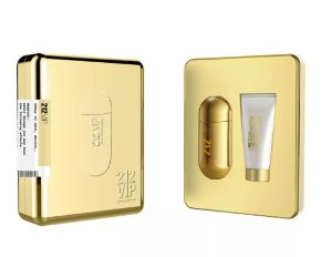 Kit 212 Vip Eau de Parfum Carolina Herrera 80ML + Body Lotion 100ML - Feminino