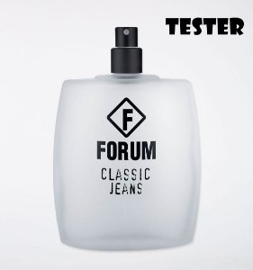 Tester Forum Classic Jeans Deo Colôlinia 100ML - Perfume Masculino