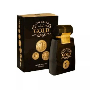 Gold Eau de Toilette New Brand 100ml - Perfume Masculino