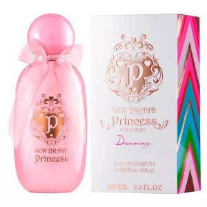 Princess Dreaming Eau de Parfum New Brand 100ml - Perfume Feminino