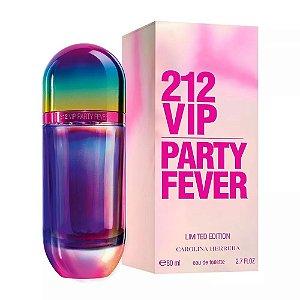 212 VIP Party Fever Carolina Herrera Eau de Toilette 80ml - Perfume Feminino