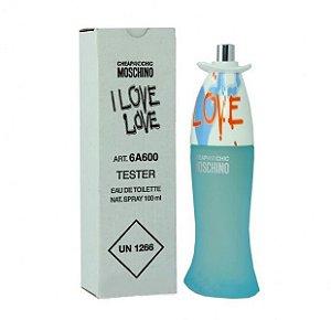 Tester I love love Eau de Toilette Moschino 100ml - Perfume Feminino