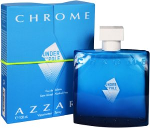 Azzaro Chrome Under The Pole Eau de Toilette 100ml - Perfume Masculino