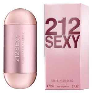 212 Sexy Carolina Herrera Eau de Parfum 60ml - Perfume Feminino