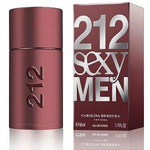 212 Sexy Men Carolina Herrera Eau de Toilette 50ml - Perfume Masculino