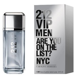 212 VIP Men Eau de Toilette Carolina Herrera 200ml - Perfume Masculino