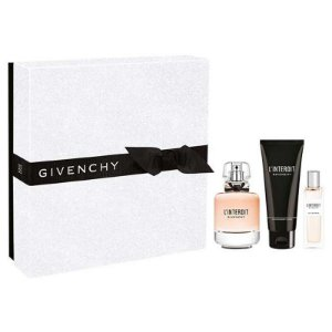 Kit Givenchy L'Interdit Eau de Parfum 80ml + Miniatura 15ml + Body Lotion 75ml