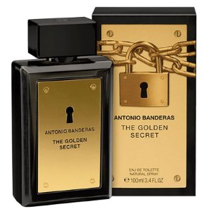 The Golden Secret Antonio Banderas Eau de Toilette 100ml - Perfume Masculino
