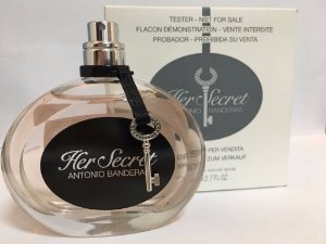 Tester Her Secret Antonio Banderas EDT 80ml - Perfume Feminino